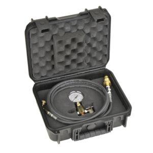pressure gauge in carrying case