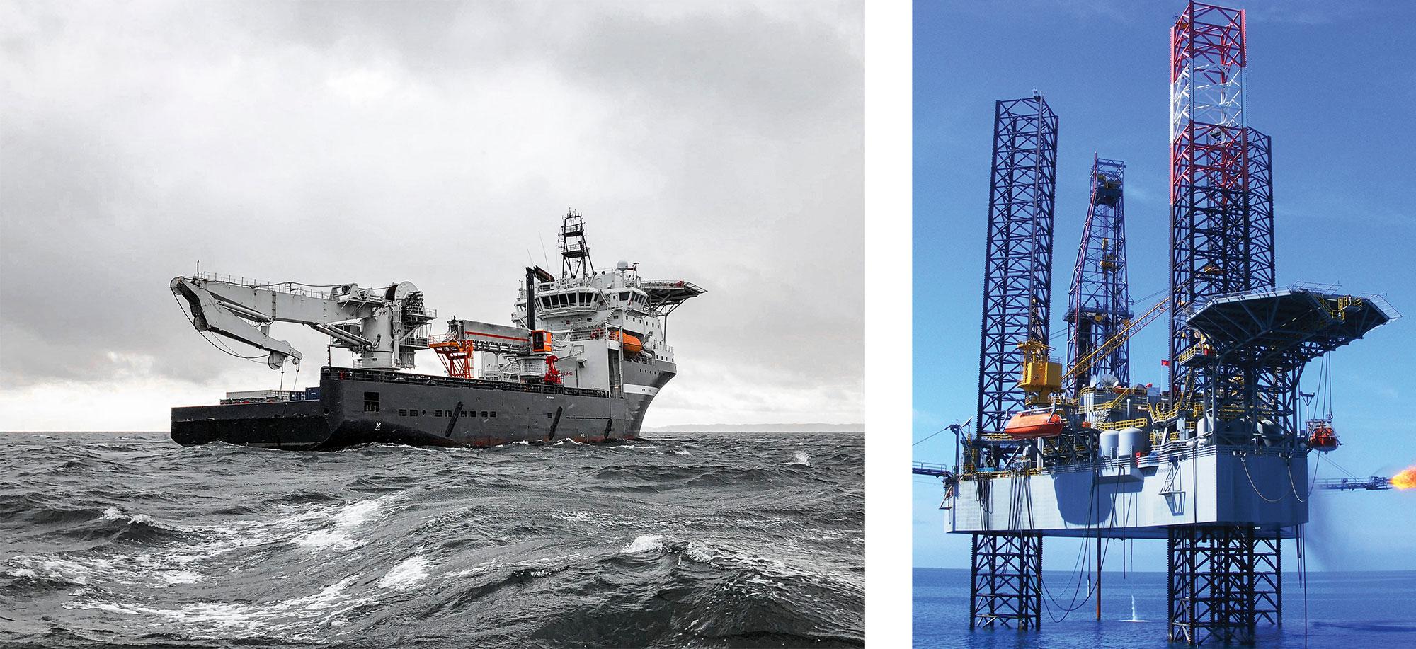 Ocean faring vessels